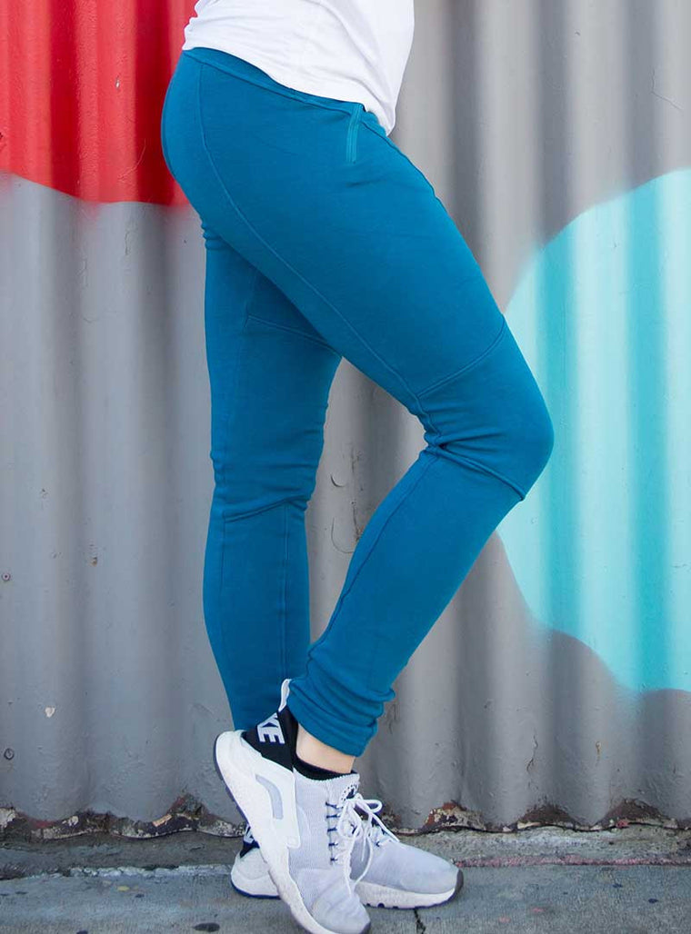 Crew Leggings | Lagoon