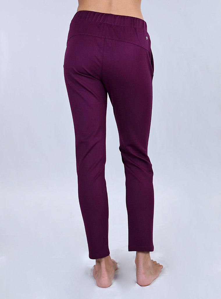 Flight Trouser | Plum