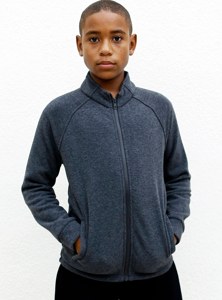 Track Fleece | Grey