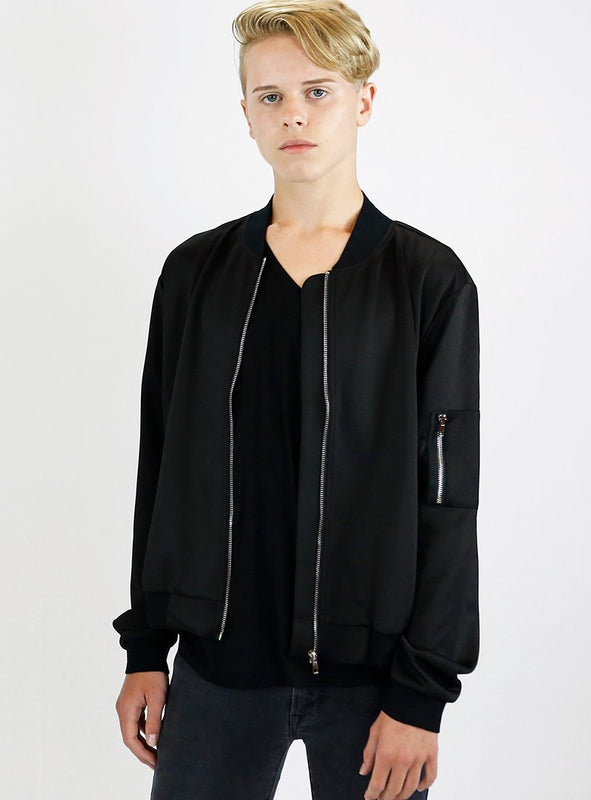 Unisex/Men Bomber Jacket