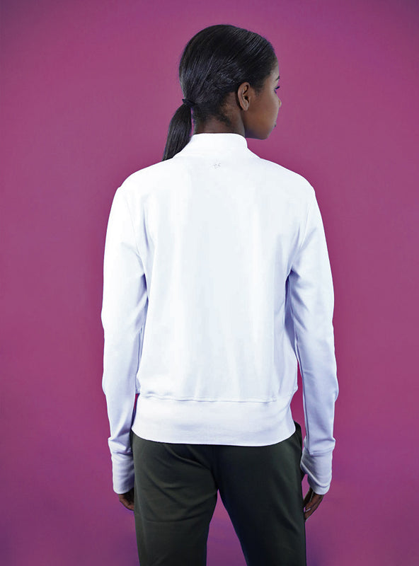 Flight Jacket | White