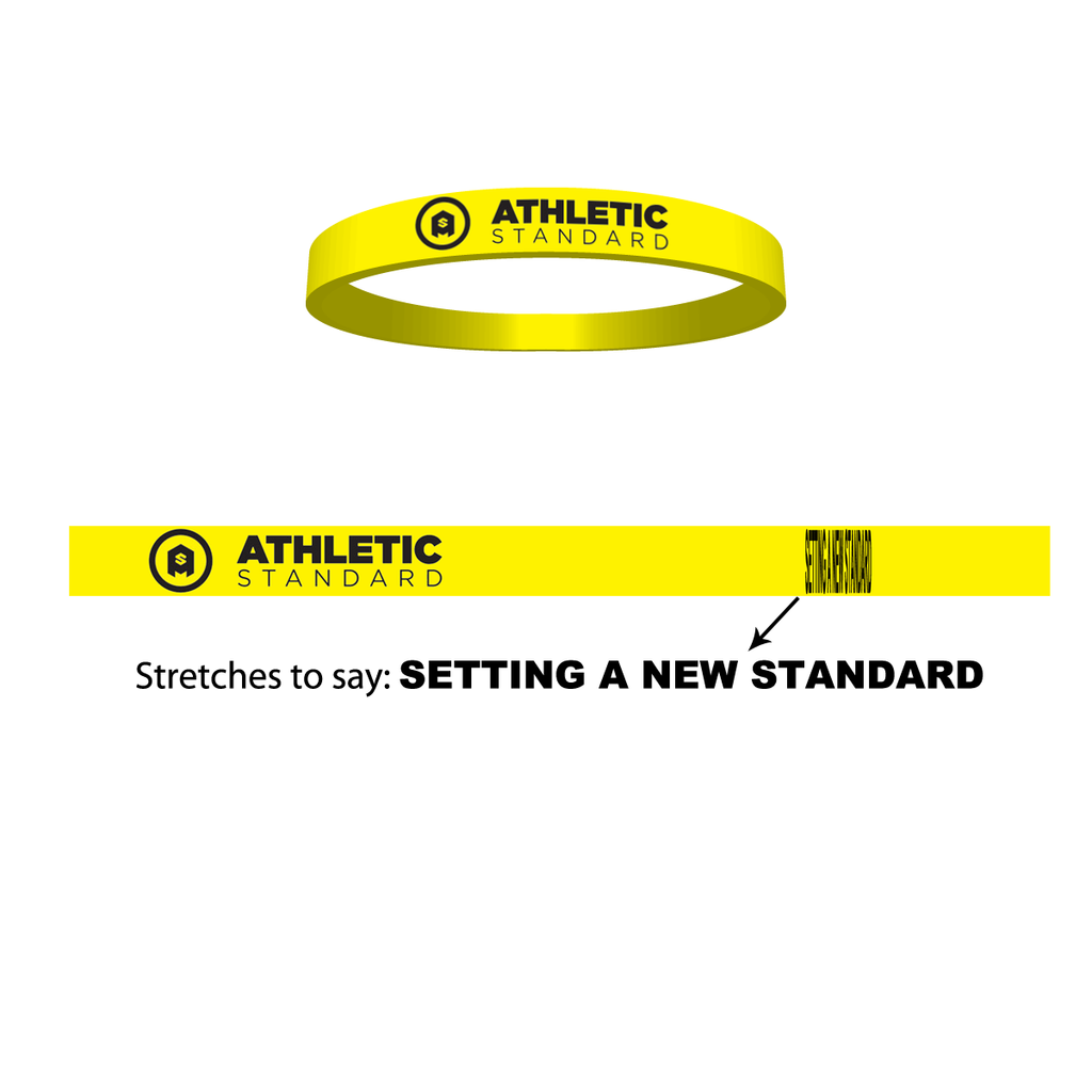 """Setting a New Standard"" Stretch Band"