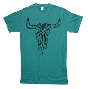 Rodeo Time Skull T