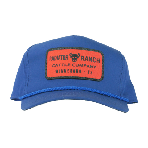 Cattle Company Cap in Blue