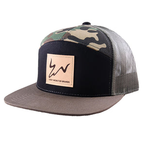 Cody Webster Logo Camo Green Meshback