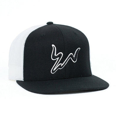 Cody Webster Logo Black & White Meshback