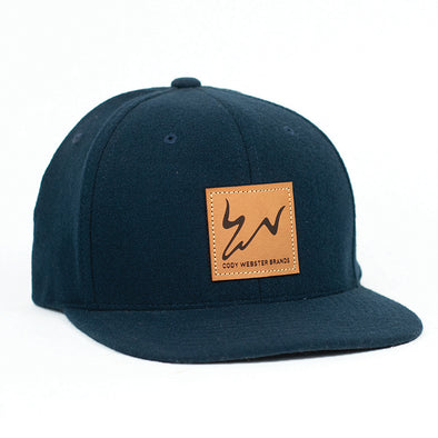 Cody Webster Logo Navy Flatbill