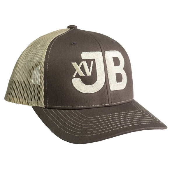 XVJB Brown & Tan Mesh Precurved