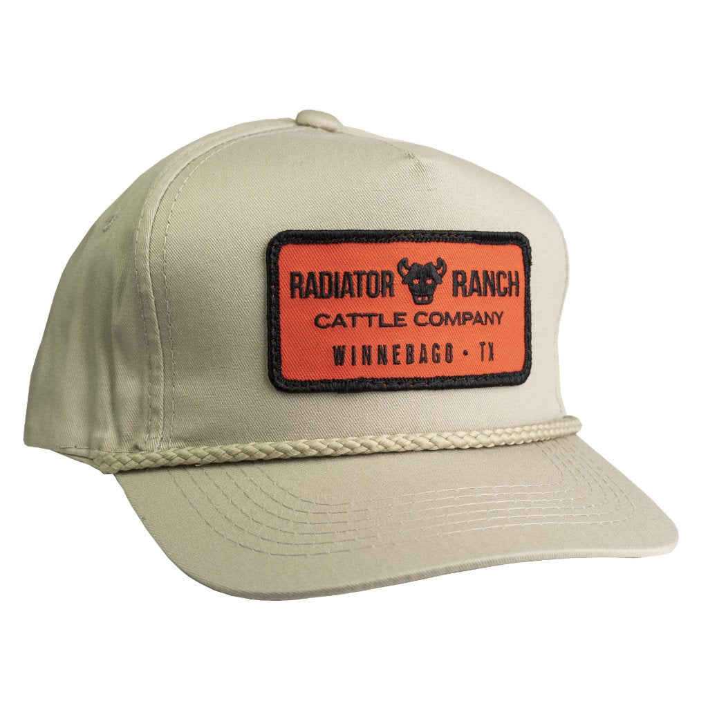 Cattle Company Cap Khaki Pre Curved Dale Brisby S Rodeo Time