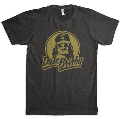 Dale Brisby Gold Logo T