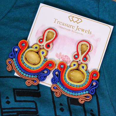 Fiesta Jewel Earrings