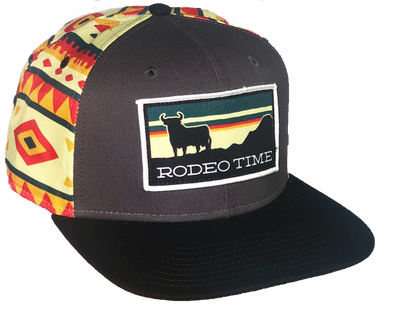 *NEW* Rodeo Time Sunset Fiesta Flatbill