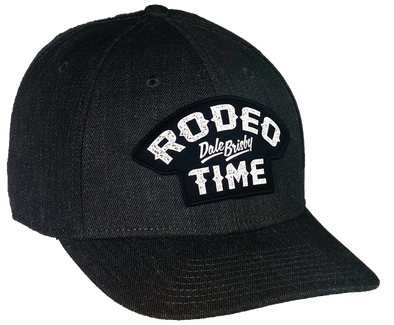 *NEW* DB Rodeo Time Patch Charcoal Denim Precurved