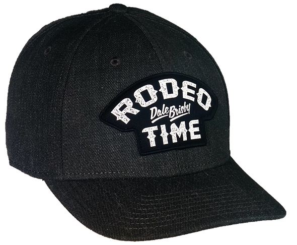DB Rodeo Time Patch Charcoal Denim Precurved