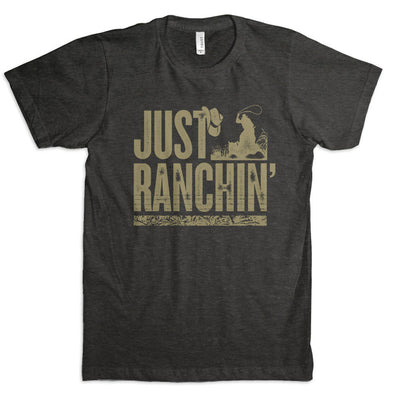 Just Ranchin Silhouette T