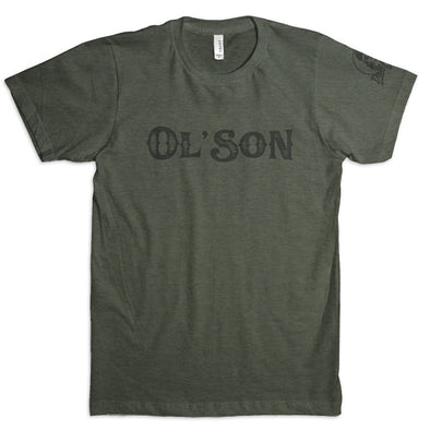 Ol' Son T in Military Green