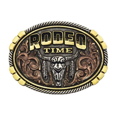 Montana Silversmiths Rodeo Time Buckle