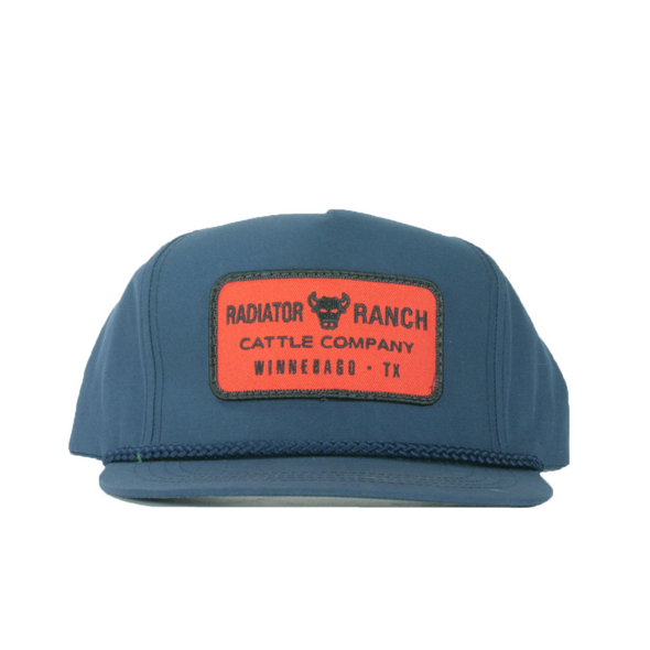 Navy Radiator Ranch Cap