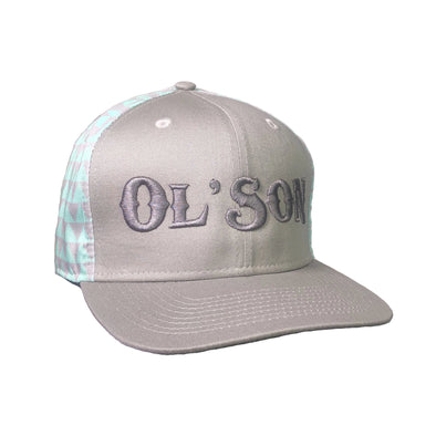 *NEW* Ol' Son Mint Diamond Back Flatbill