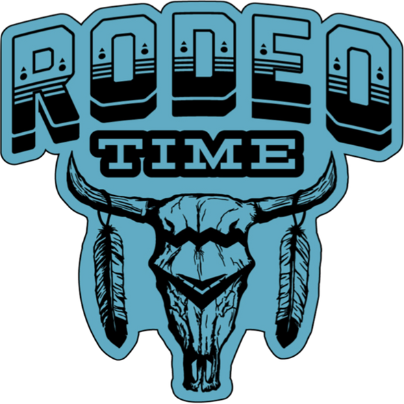 Rodeo Time Decal