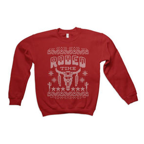 *PRESALE* Rodeo Time Christmas Sweater