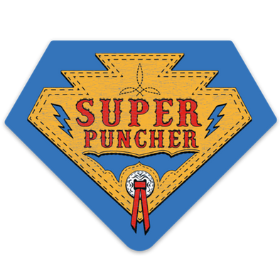 Super Puncher Hero Decal