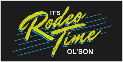 Saved By Rodeo Time Decal