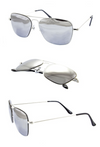 Goose Square Aviator Sunglasses