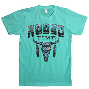 Tribal Rodeo Time T