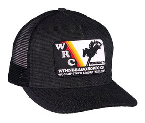*NEW* WRC Black Denim Mesh Precurved