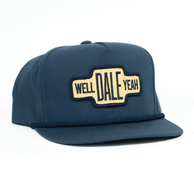 Well Dale Yeah Navy Ranch Cap