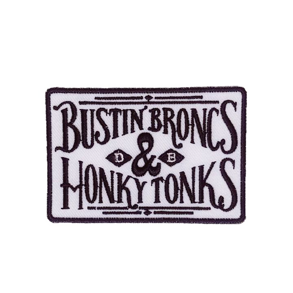 Bustin Broncs & Honky Tonks Patch
