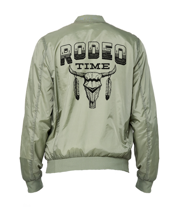 Rodeo Time Lightweight Bomber Jacket
