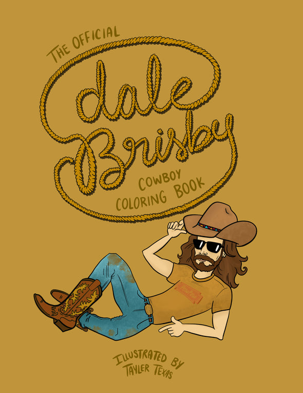 Dale Brisby Coloring Book