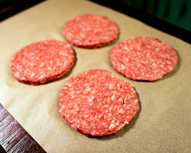 Brisby Beef- Pack of 4 Hamburger Patties