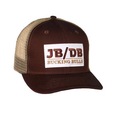 *SIGNED* JB/DB Brown & Khaki Mesh Precurved