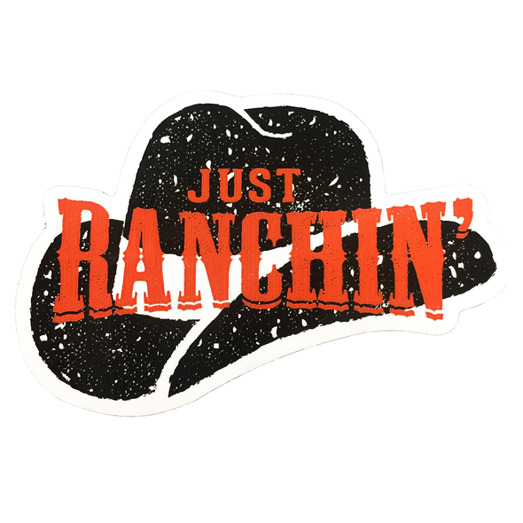Just Ranchin' Decal