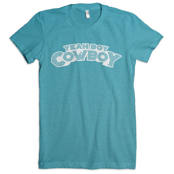 Ladies Yeah Boy Cowboy Favorite Fit T
