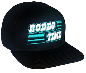 *NEW* Rodeo Time Black Aztec Flatbill