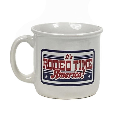 It's Rodeo Time America Campfire Mug
