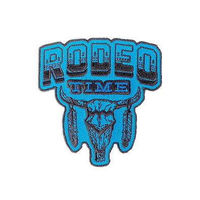 Rodeo Time Skull Patch