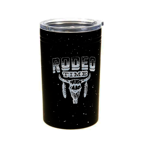 Black Rodeo Time Tumbler