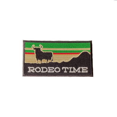 Sunset Rodeo Time Patch