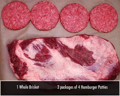 Buck 8 Brisby Beef Package