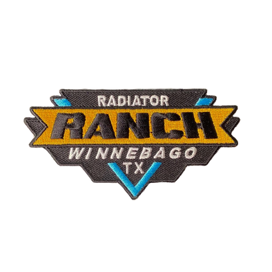 Vintage Radiator Ranch Patch