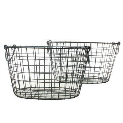 Darby Wire Basket | Oval