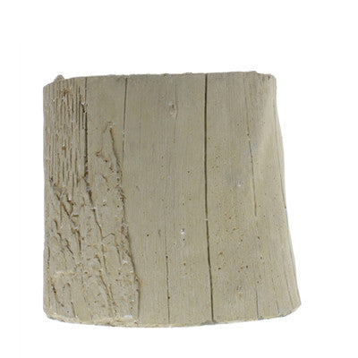 Eucalyptus Cast Cement Container | Medium