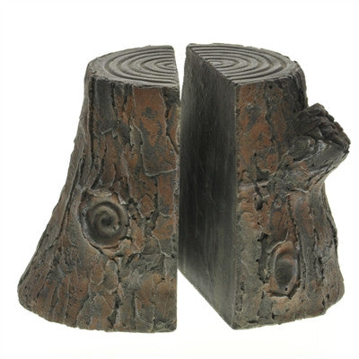Cypress Cast Cement Bookends