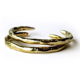 Band Cuff in Brass