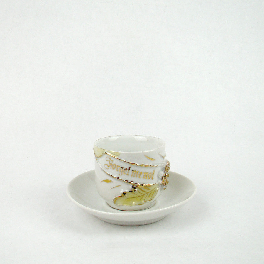 Think Of Me Demitasse Cup/Saucer